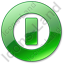 Shutdown Green Icon