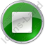 Stop Green Icon, PNG/ICO, 64x64