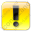 Warning Box Yellow Icon