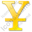 Yen Yellow Icon