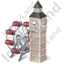 London Eye & Big Ben Icon