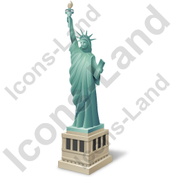 New York City Statue Of Liberty Icon, PNG/ICO, 256x256