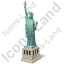 New York City Statue Of Liberty Icon, PNG/ICO, 64x64