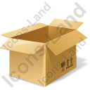 Bulk Box Opened Icon, PNG/ICO, 128x128