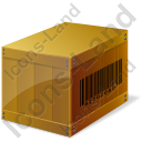 Wooden Box Icon, AI,