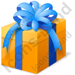 Present Box Ribbon Icon