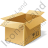Bulk Box Opened Icon, PNG/ICO, 48x48