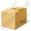 Bulk Box Closed Icon, PNG/ICO, 64x64