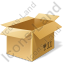 Bulk Box Opened Icon, PNG/ICO, 64x64