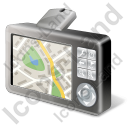 GPS Navigation Device Map Icon