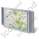 Plasma Display Map 2 Icon