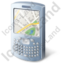 Smartphone Map Icon