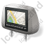 Car Headrest Monitor Map Icon