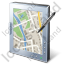 Tablet Computer Map Icon