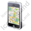 iPhone Map Icon, PNG/ICO, 64x64