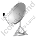 Satellite Dish 2 Icon, AI,