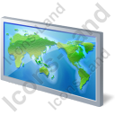 World Map 1 Icon