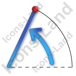Coordinate System Polar Icon