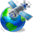 Satellite 2 Globe Icon
