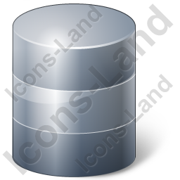 Database Grey Icon