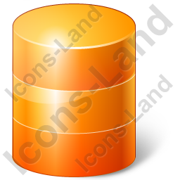 Database Yellow Icon