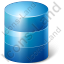 Database Blue Icon