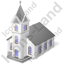 Catholic Church Temple Icon, PNG/ICO, 256x256