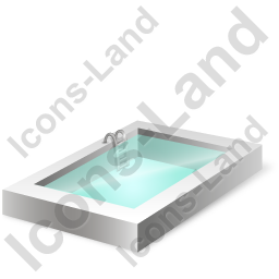 Swimming Pool Icon, PNG/ICO, 256x256