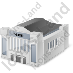 Theater Icon, PNG/ICO, 256x256