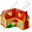 House 2 Icon, PNG/ICO, 64x64