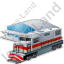Train Station 1 Icon, PNG/ICO, 64x64