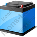 Automotive Battery Charged Icon