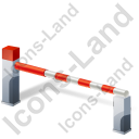 Boom Barrier Closed Icon