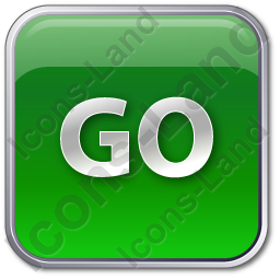 Go Sign Icon, PNG/ICO, 256x256