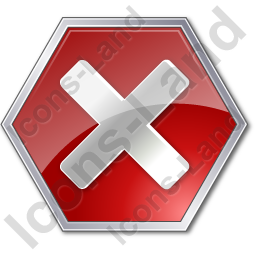 Stop Sign 2 Icon, PNG/ICO, 256x256