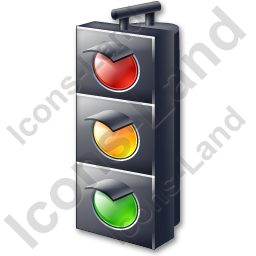 Traffic Lights On Icon