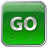 Go Sign Icon, PNG/ICO, 48x48
