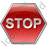 Stop Sign Icon, PNG/ICO, 48x48
