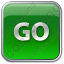 Go Sign Icon, PNG/ICO, 64x64