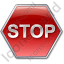 Stop Sign Icon, PNG/ICO, 64x64