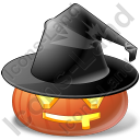 Halloween Pumpkin Celebrate Icon, PNG/ICO, 128x128