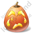 Halloween Pumpkin Crying Icon