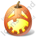 Halloween Pumpkin Hysterical Icon