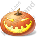 Halloween Pumpkin Laugh Icon