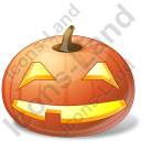 Halloween Pumpkin Smile Icon