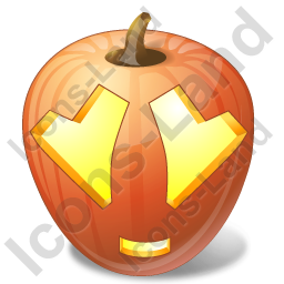Halloween Pumpkin Adore Icon, PNG/ICO, 256x256