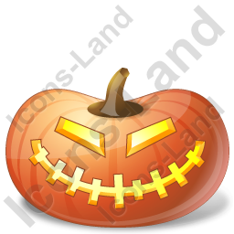Halloween Pumpkin Happy Icon