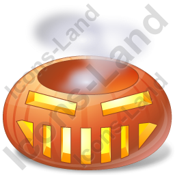 Halloween Pumpkin Sweat Icon