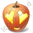 Halloween Pumpkin Adore Icon, PNG/ICO, 48x48