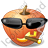 Halloween Pumpkin Cool Icon